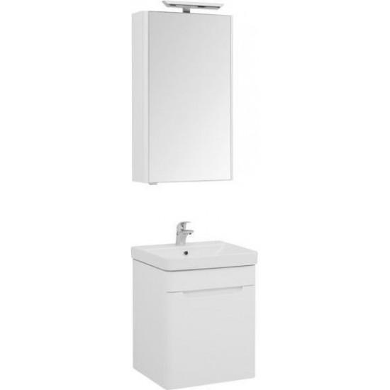 Комплект мебели для ванной Aquanet София 50 белый в интернет-магазине ROSESTAR фото