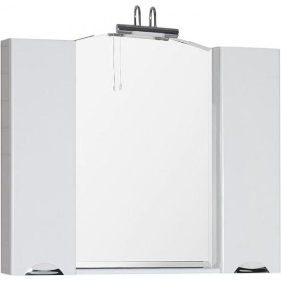 Зеркало-шкаф Aquanet Асти 105 белый в интернет-магазине ROSESTAR фото