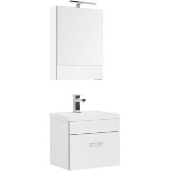 Комплект мебели для ванной Aquanet Верона NEW 50 белый (подвесной 1 ящик)