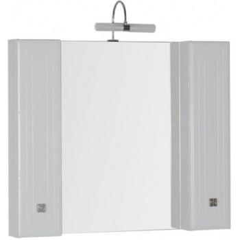 Зеркало-шкаф Aquanet Стайл 105 белый