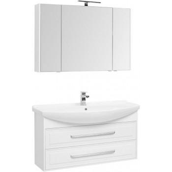 Комплект мебели для ванной Aquanet Остин 120 белый