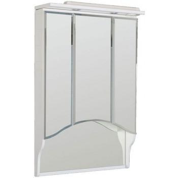 Зеркало-шкаф с подсветкой Aquanet 100 белый