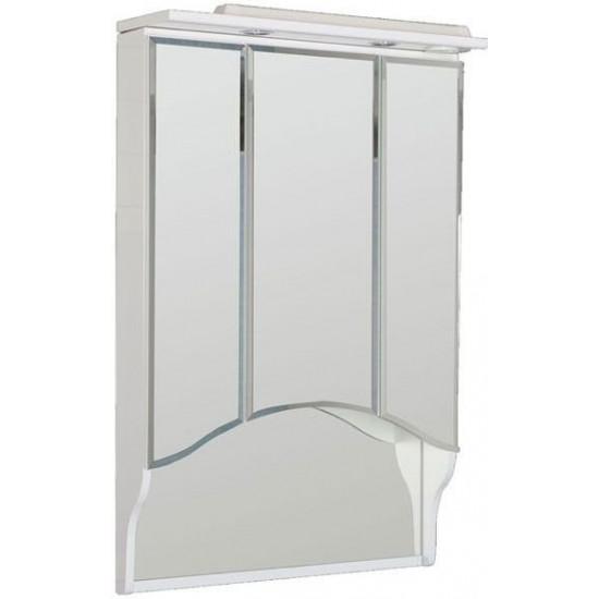 Зеркало-шкаф с подсветкой Aquanet 100 белый в интернет-магазине ROSESTAR фото