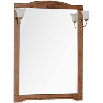 Зеркало Aquanet Луис 80 темный орех