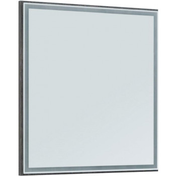 Зеркало Aquanet Nova Lite 75 дуб рошелье LED