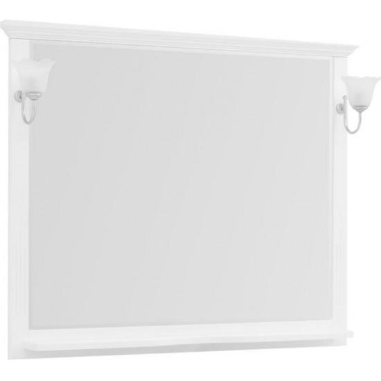 Зеркало Aquanet Лагуна 120 белый в интернет-магазине ROSESTAR фото