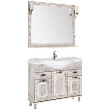Комплект мебели для ванной Aquanet Тесса 105 жасмин/сандал