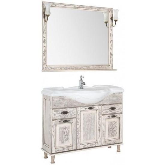Комплект мебели для ванной Aquanet Тесса 105 жасмин/сандал в интернет-магазине ROSESTAR фото
