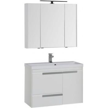 Комплект мебели для ванной Aquanet Тиволи 90 белый