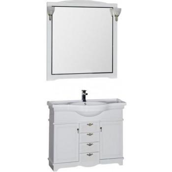 Комплект мебели для ванной Aquanet Луис 110 белый