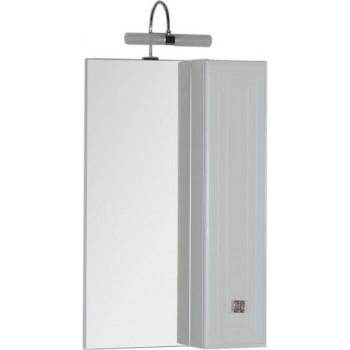Зеркало-шкаф Aquanet Стайл 55 белый