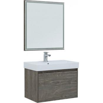 Комплект мебели для ванной Aquanet Nova Lite 75 дуб рошелье (1 ящик)