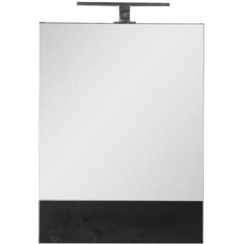Зеркало-шкаф Aquanet Нота 58 черный