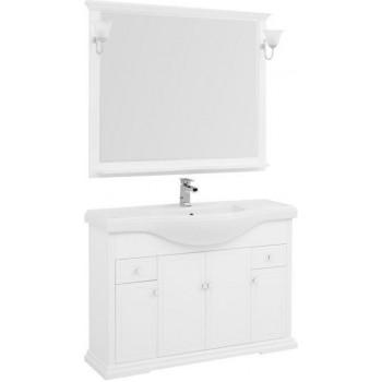 Комплект мебели для ванной Aquanet Лагуна Классик 120 белый