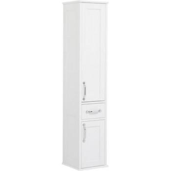Шкаф-пенал для ванной Aquanet Денвер 36 R белый