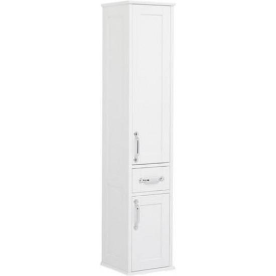 Шкаф-пенал для ванной Aquanet Денвер 36 R белый в интернет-магазине ROSESTAR фото