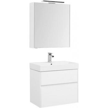 Комплект мебели для ванной Aquanet Бруклин 70 белый
