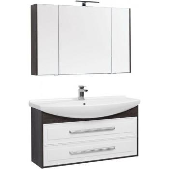 Комплект мебели для ванной Aquanet Остин 120 дуб кантербери/белый
