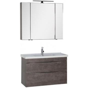 Комплект мебели для ванной Aquanet Эвора 100 дуб антик