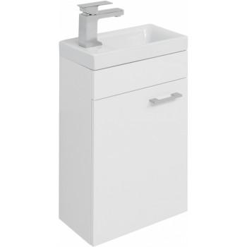 Тумба с раковиной Aquanet Нота 40 L (Moduo) белый
