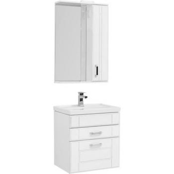 Комплект мебели для ванной Aquanet Рондо 60 белый антик (2 ящика)