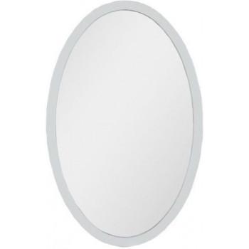 Овальное зеркало Aquanet Сопрано 70 белый