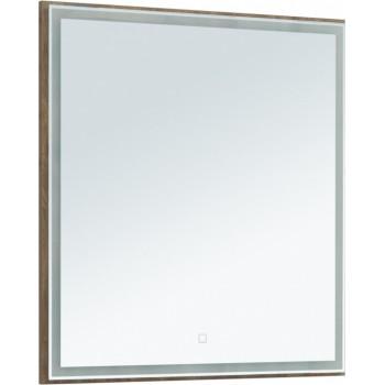 Зеркало Aquanet Nova Lite 75 дуб рустикальный LED
