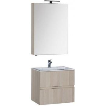Комплект мебели для ванной Aquanet Алвита 60 ясень коимбра