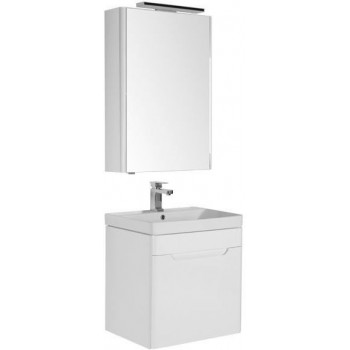 Комплект мебели для ванной Aquanet София 60 белый