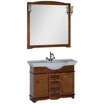Комплект мебели для ванной Aquanet Луис 110 темный орех
