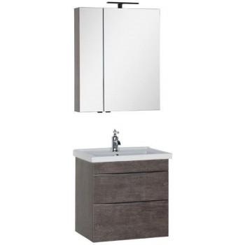 Комплект мебели для ванной Aquanet Эвора 70 дуб антик