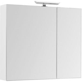 Зеркало-шкаф Aquanet Йорк 100 белый