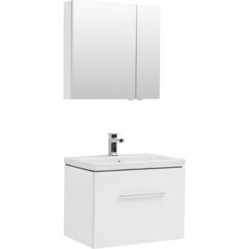 Комплект мебели для ванной Aquanet Порто 70 белый