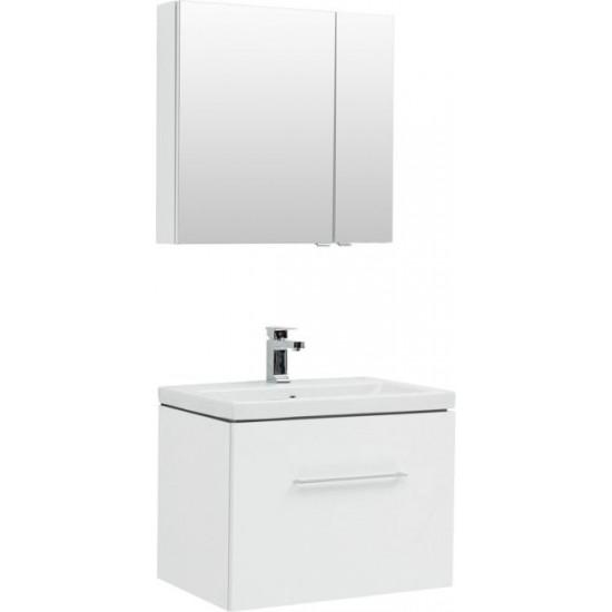 Комплект мебели для ванной Aquanet Порто 70 белый в интернет-магазине ROSESTAR фото