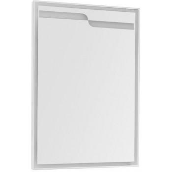 Зеркало с подсветкой Aquanet Модена 65 белый
