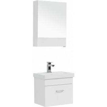 Комплект мебели для ванной Aquanet Нота 50 (Moduo Slim) белый