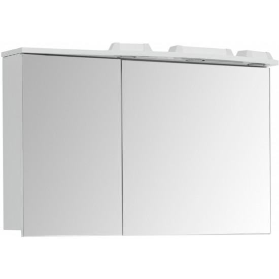 Зеркало-шкаф Aquanet Грация 95 R белый в интернет-магазине ROSESTAR фото