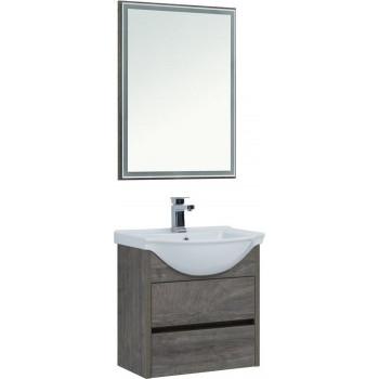 Комплект мебели для ванной Aquanet Сидней 60 дуб рошелье