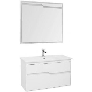 Комплект мебели для ванной Aquanet Модена 100 белый