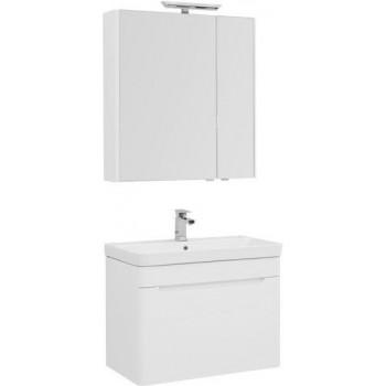 Комплект мебели для ванной Aquanet София 80 белый