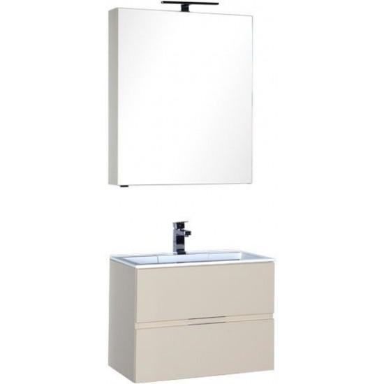 Комплект мебели для ванной Aquanet Алвита 70 бежевый в интернет-магазине ROSESTAR фото