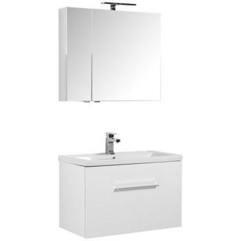 Комплект мебели для ванной Aquanet Порто 80 белый