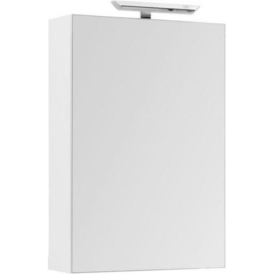 Зеркало-шкаф Aquanet Йорк 60 белый в интернет-магазине ROSESTAR фото
