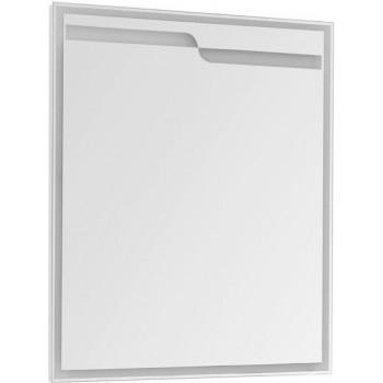 Зеркало с подсветкой Aquanet Модена 75 белый