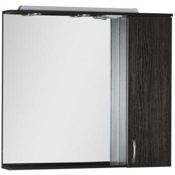 Зеркало-шкаф с подсветкой Aquanet Донна 100 венге