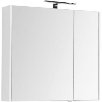 Зеркало-шкаф Aquanet Остин 85 белый