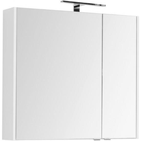 Зеркало-шкаф Aquanet Остин 85 белый в интернет-магазине ROSESTAR фото