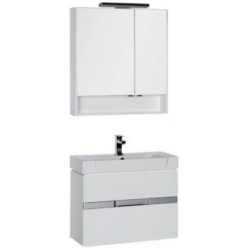 Комплект мебели для ванной Aquanet Виго 80 белый