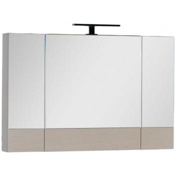 Зеркало-шкаф Aquanet Нота 100 светлый дуб
