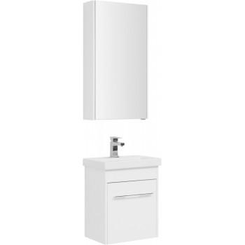 Комплект мебели для ванной Aquanet Августа 50 (Moduo Slim) белый